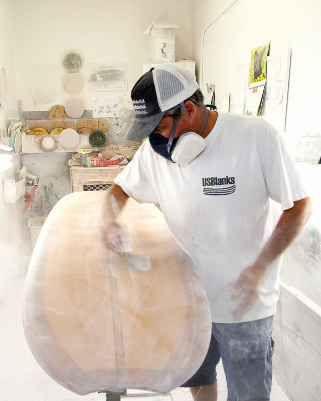 Shaping: Haut Surfboards